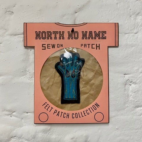 North_No_Name_Felt_Patch_Hand_Tokio_Japan