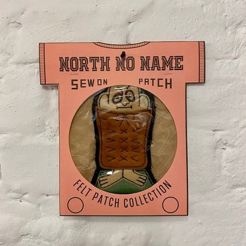 North_No_Name_Felt_Patch_I_Am_Mad_About_You_Tokyo_Japan
