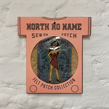 North_No_Name_Felt_Patch_Kiss_My_Patch_Tokyo_Japan