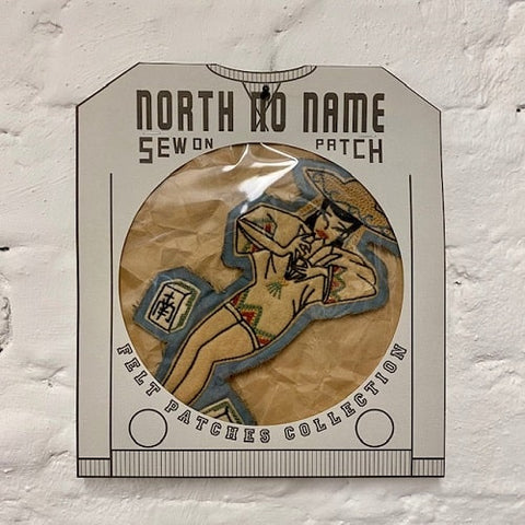 North_No_Name_Felt_Patch_Lady_Tokyo_Japan
