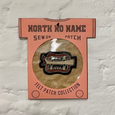 North_No_Name_Felt_Patch_Leg_Bite_Tokio_Japan