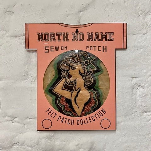 North_No_Name_Felt_Patch_Oldschool_Woman_Tokyo_Japan