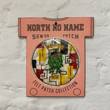 North_No_Name_Felt_Patch_Peace_NN_Tokyo_Japan