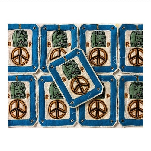 North_No_Name_Felt_Patch_Peace_Tokyo_Japan