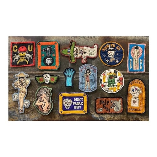 North_No_Name_Felt_Patches_Tokyo_Japan_2020_Collection