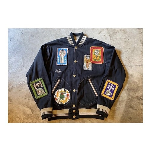 North_No_Name_Felt_Patches_Tokyo_Japan_2020_Collection_Jacket