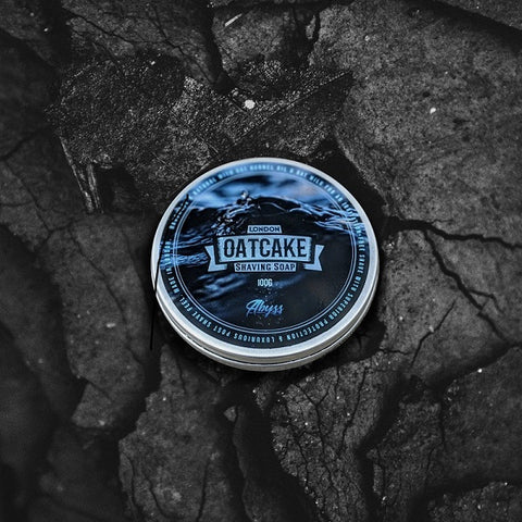 Oatcake-Abyss-Tallow-Rasierseife-small-batch-shaving-soap