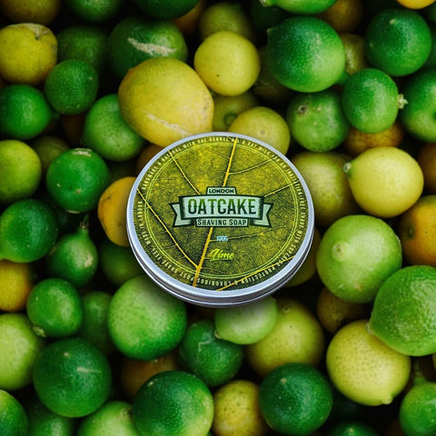 Oatcake-Lime-Tallow-Rasierseife-small-batch-shaving-soap