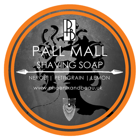 Phoenix and Beau Pall Mall Shaving Soap Rasierseife Tallow Artisan
