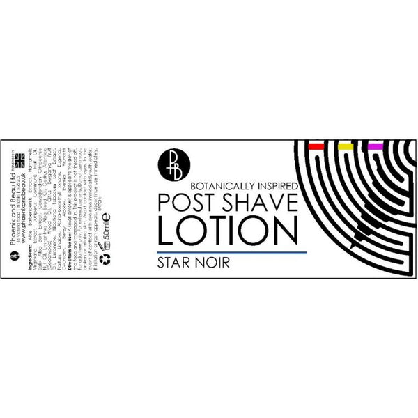 Phoenix and Beau Star Noir Post Shave Lotion Aftershave