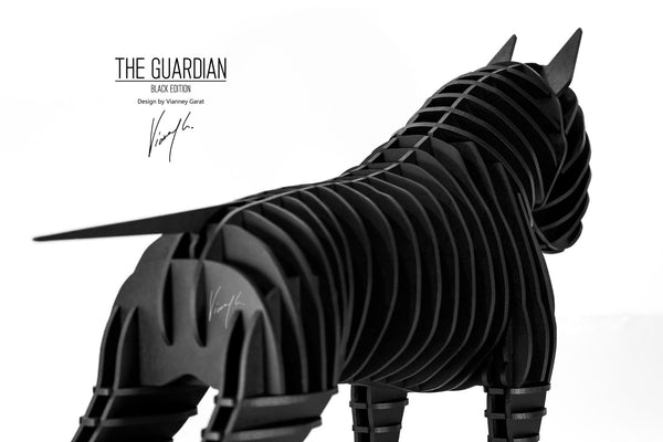 Bullterrier The Guardian Black Edition Vianney Garat