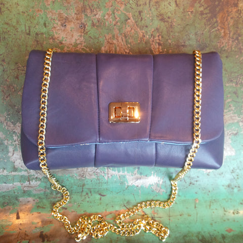 PRICE ECO DESIGN POCHETTE PURPLE LEATHER - Soul Objects, a SoulExperience