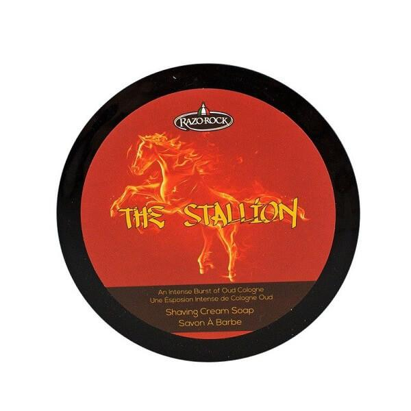 RazoRock The Stallion Oud Luxury Rasierseife Shaving Soap
