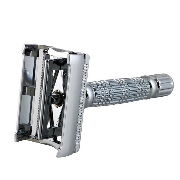 Razorock Quick Change Rasierhobel Safety Razor Butterfly System