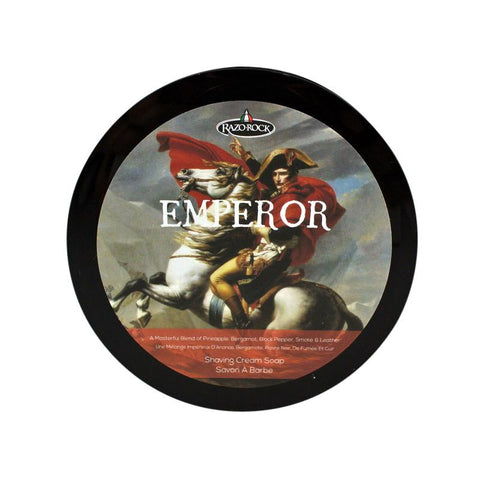 RazoRock Emperor Luxury Rasierseife Shaving Soap Creed Aventus