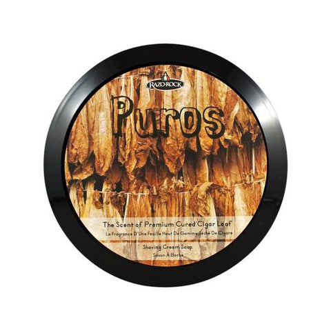 RazoRock Puros Luxurs Rasierseife Luxury Shaving Soap