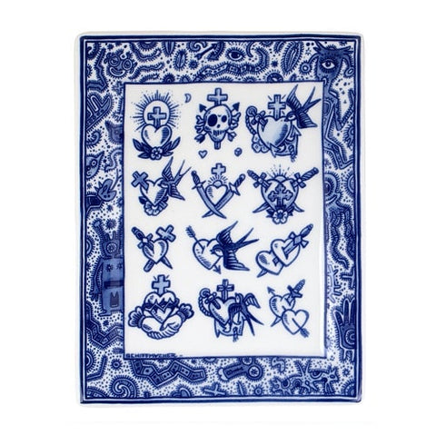 Royal_Delft_Henk_Schiffmacher_Applique_Old_School_Love_Blue_Tattoo_Porcelain