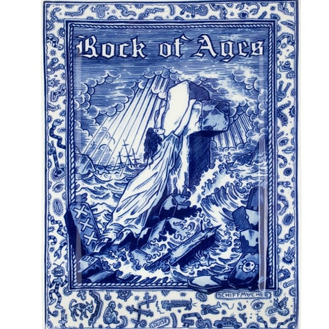 Royal_Delft_Henk_Schiffmacher_Ramasse_Rock_of_Ages_Blue_Tattoo_Porcelain_1