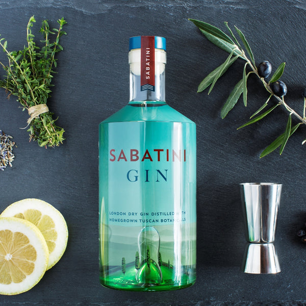 SABATINI London Dry Gin Designed in Italy Distilled in London
