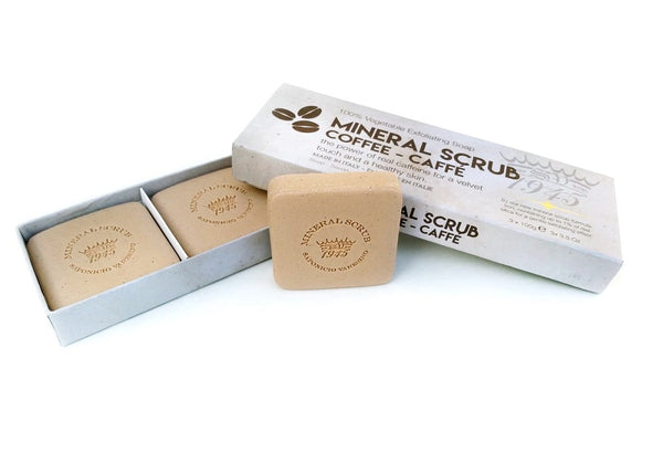 Saponificio_Varesino_Mineral_Scrub_Coffee_Soap_Set_Italien