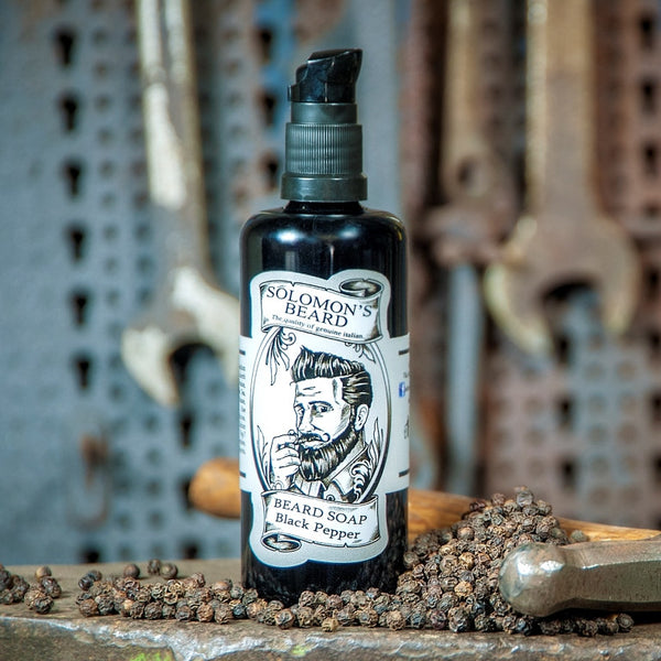 Black Pepper Bartshampoo