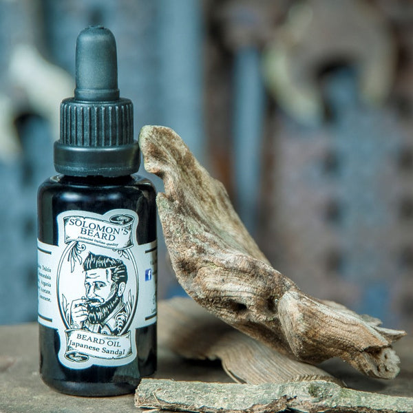 Solomons Beard Japanese Sandalwood Beard Oil Bartöl Italy