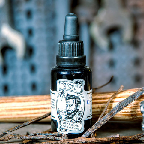 Solomons Beard Vanilla Wood Beard Oil Bartöl Italy
