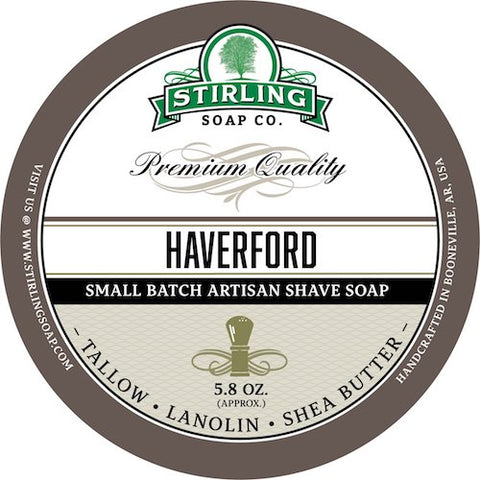 Stirling-Soap-haverford-Rasierseife