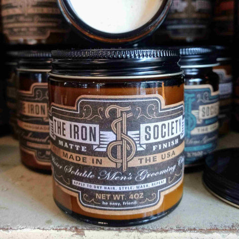 The Iron Society Matte Finish Clay