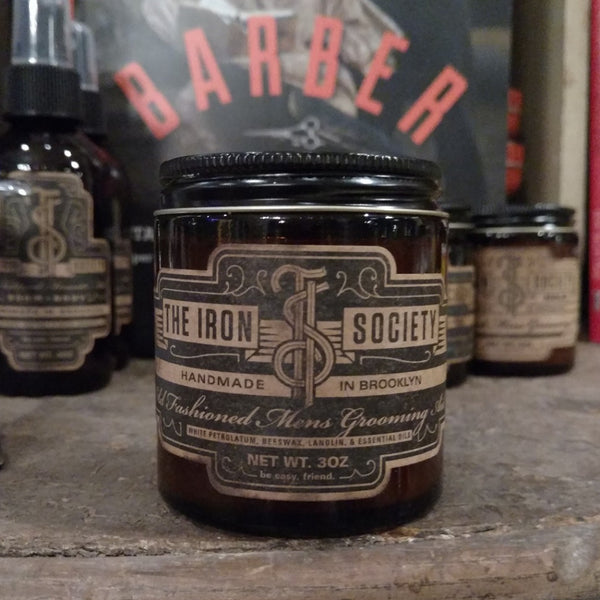 The Iron Society Pomade Brooklyn USA