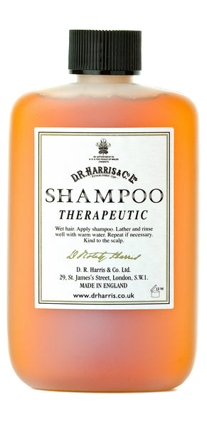 D. R. Harris Luxury Therapeutic Hair Shampoo Cure Dandruff