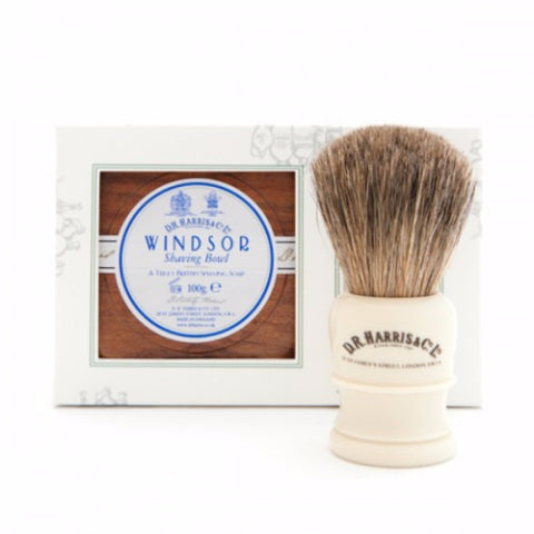 WINDSOR SHAVING GIFT SET MAHOGANY