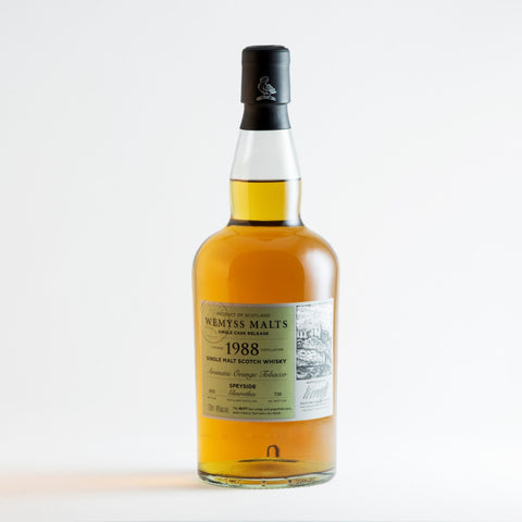 Wemyss Malts - Aromatic Orange Tobacco 1988 Soul Objects Berlin