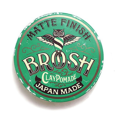 BROSH-Clay-Pomade-Matte-Fisnish-Japan-Made