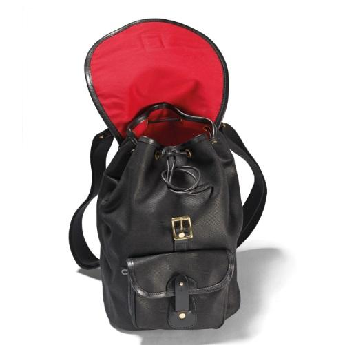 croots-vintagerange-canvas-rucksack-waxed-canvas-black-open
