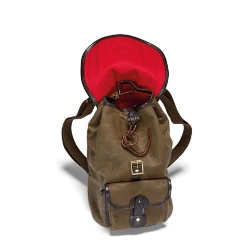 croots-vintagerange-canvas-rucksack-waxed-canvas-olive-open