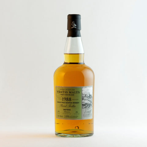 Wemyss Malts 1988 Single Malt Scotc Whisky Floral Trellis, @ Soul Obejects, a SoulExperience!