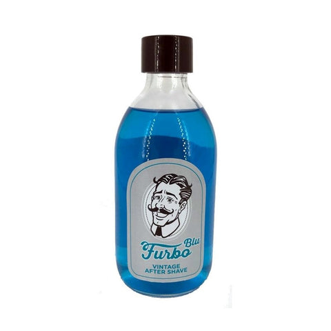 Furbo Blu Vintage Aftershave Splash Floid Blue Scent Italy