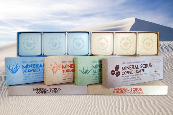 Saponificio Varesino Mineral Scrub Seifen Sets-Peeling Soap-artisan made luxury