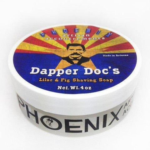 Phoenix Artisan Accoutrements Dapper Doc Vegan Rasierseife Luxus Shaving Soap