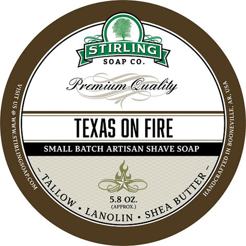stirlig-Soap-Co-Texas-on-fire-Rasierseife-shave-soap
