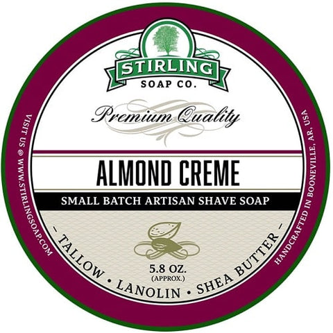 Stirling Almond Creme Rasierseife