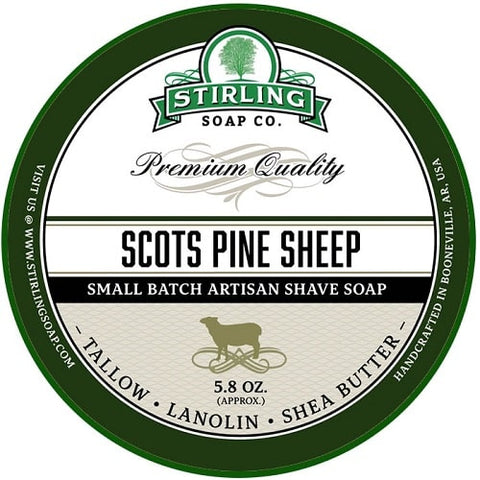 stirling-Scots-Pine-Sheep-Rasierseife-shave-soap