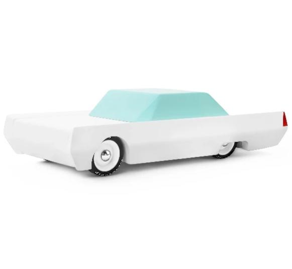 candylab-toys-white-beast-sleeper-car-muscle-car-american-classics