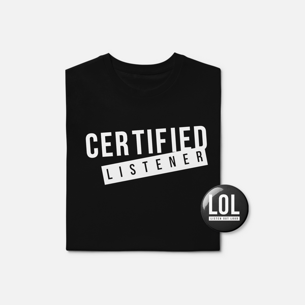 #CertifiedListener Starter Pack - LIMITED EDITION