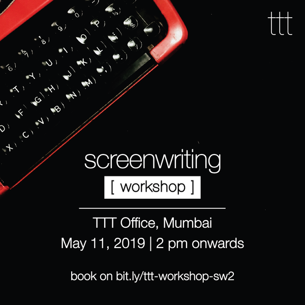 Screenwriting Workshop - 11.05.19