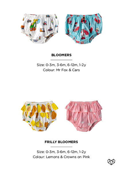 Kapas | Summer 18/19 Collection - Bloomers