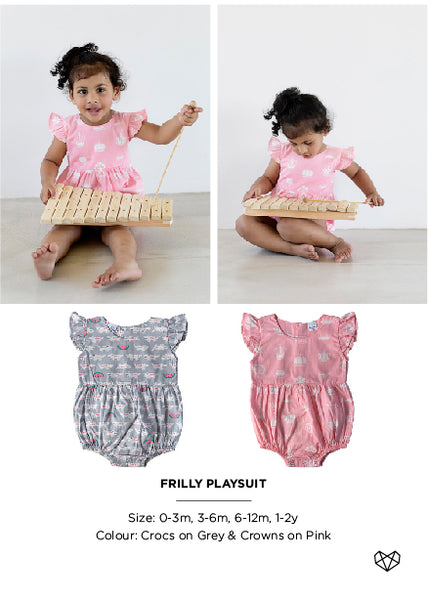 Kapas | Frilly Playsuit