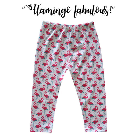 Kapas Baby - Flamingo Leggings