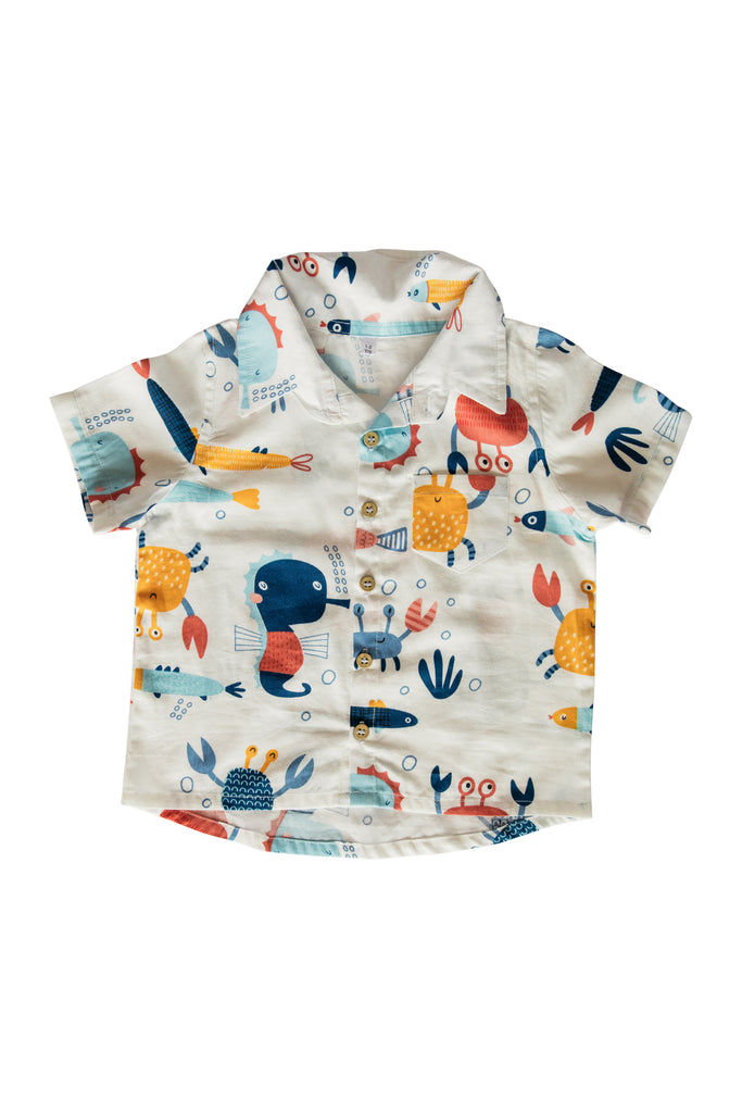 Collared Shirt - Under the sea